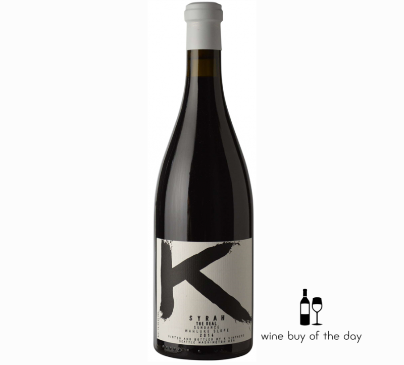 K Vintners The Deal Sundance Vineyard Syrah 2014