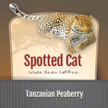 Zawadee Spotted Cat Tanzanian Peaberry | 32oz