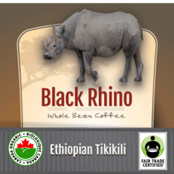 Fair Trade Organic Black Rhino Ethiopian Tikikili | 16oz