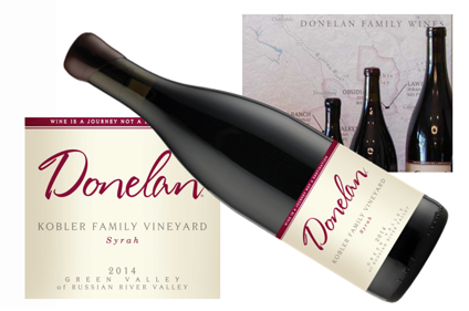 Donelan Kobler Family Vineyard Syrah 2014