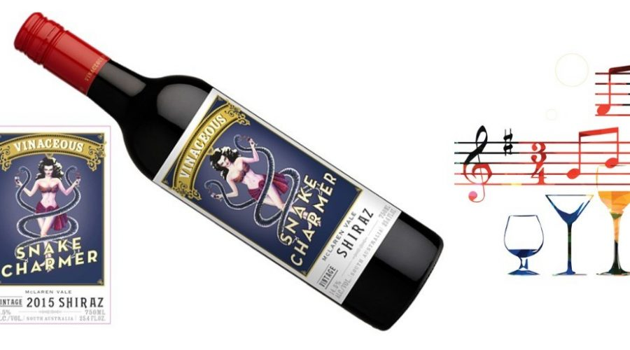 Vinaceous Snake Charmer Shiraz 2015 | Rich, layered | Cellar Selection Pairs w/Grilled Red & White Meats, Comfort Foods | Serve 60-65°F | Drink now thru 2024 | 91W&S | Red Wine | Shiraz | McLaren Vale, Australia | Vinaceous Wines Snake Charmer