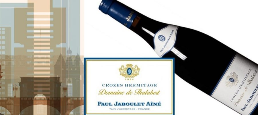 Jaboulet Crozes-Hermitage Domaine de Thalabert 2015 | Classic Crozes-Hermitage | Pairs w/Beef, Lamb, Stews and Hearty dishes – amazing with Lamb dishes | Winemaker Jacques Desvernois | Northern Rhone Syrah