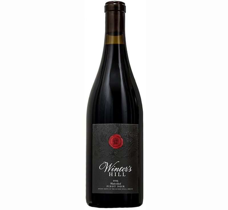 Winter's Hill Pinot Noir Watershed 2015 | Gorgeous & Mouthwatering | Cellar Selection | Versatile - Pairs w/ Red & White Meat, Comfort Foods & Cheese | Serve 58-63°F | Drink now thru 2025 | 92WA | Red Wine | Pinot Noir | Winemaker Russell Gladhart
