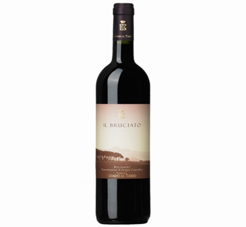 Il Bruciato Guado Al Tasso Antinori 2015 | 1.5L | Layered & Sumptious | Cellar Selection | Pairs w/Red Meat, Pasta, Comfort Foods | Serve 60-65°F | Drink now thru 2028 | 93JS | Red Blend | Cabernet · Merlot · Syrah | Bolgheri DOC, Italy