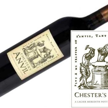 Chester's Anvil Zinfandel 2013