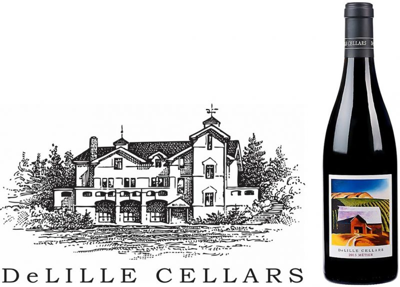 Delille Cellars Metier 2015 | Pleasure-bent beauty | Pairs w/Red Meat, Comfort Foods, Hard Cheese | Drink 60-65°F | Drink now thru 2025 | 93Vinous | Red Blend | Columbia Valley, WA