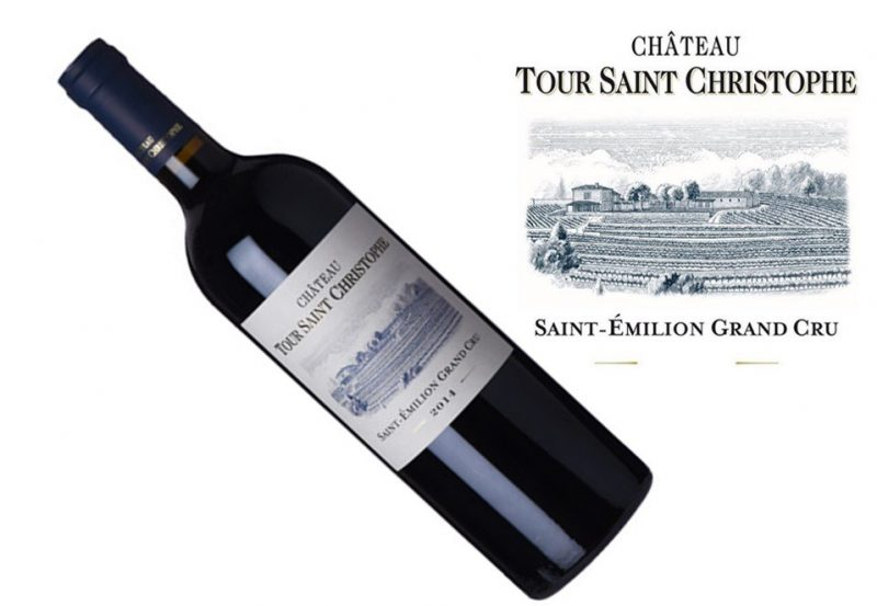 Tour St Christophe St. Emilion Grand Cru 2014 | 1.5L