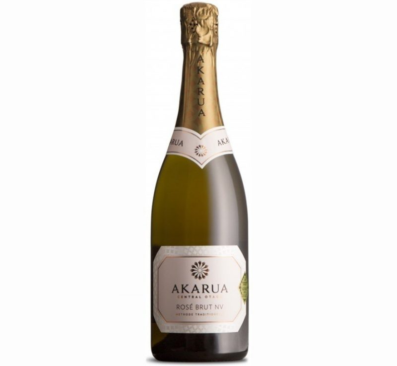 Akarua Brut Rosé NV| Refined & Sophisticated | Pairs w/Poultry, Fish, Shellfish, Spicy, Comfort foods | Drink 45-50°F | Drink now thru 2022 | 92WA | Sparkling Wine | Chardonnay · Pinot Noir | Central Otago, New Zealand | Winemaker Dr. Tony Jordan