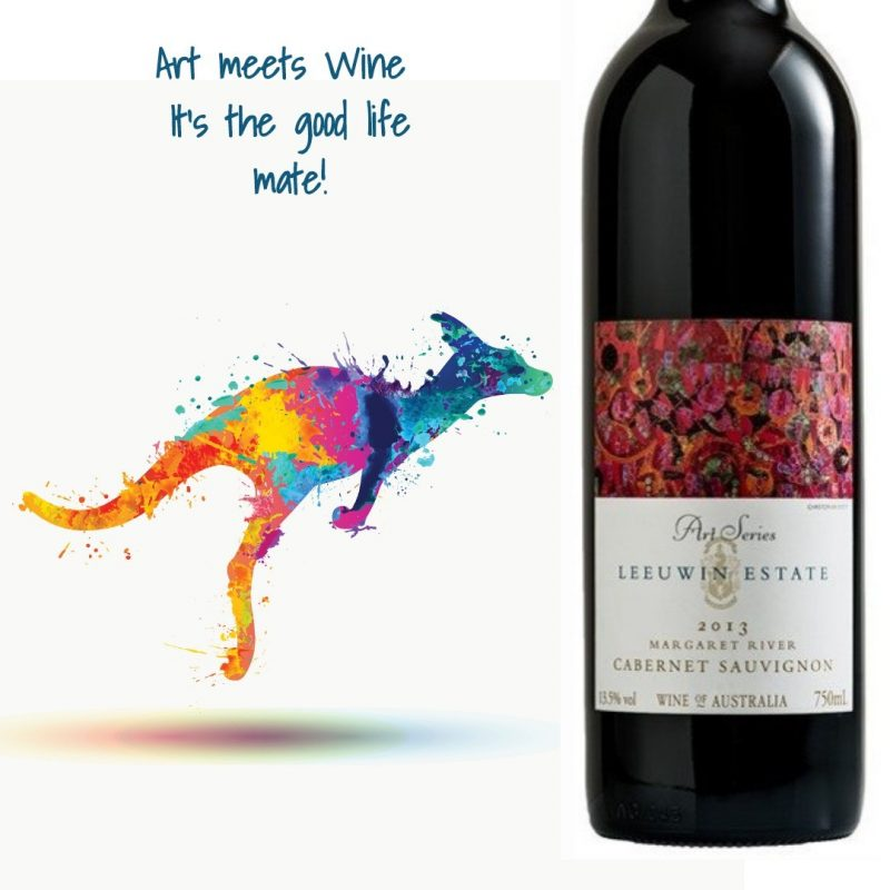 Leeuwin Estate Art Series Cabernet Sauvignon 2013 | Delicious & Sexy | Cellar Selection | Pairs w/Finest Red & White Meat, Hard Cheese | Serve 58-62°F | Drink 2022 thru 2030 | 96JS | Red Blend | Cabernet Sauvignon · 4% Malbec | Margaret River, Australia | The Mouton-Rothschild of Australia