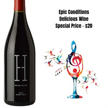 Head High Pinot Noir Sonoma County 2014