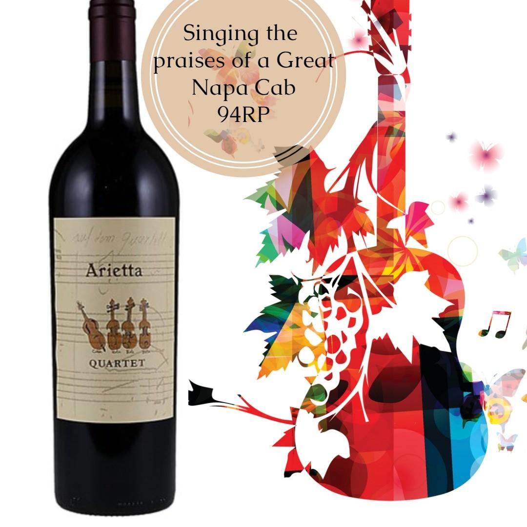 Arietta Quartet 2016 Wine Buy Of The Day Winemaker Andy Erickson