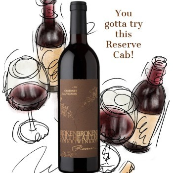 Broken Earth Winery Reserve Cabernet 2010