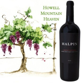 Halpin Cabernet Sauvignon Howell Mountain 2017
